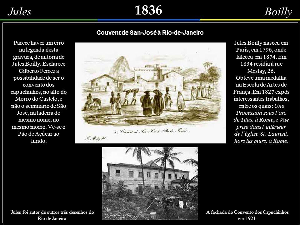 Couvent de San-José à Rio-de-Janeiro