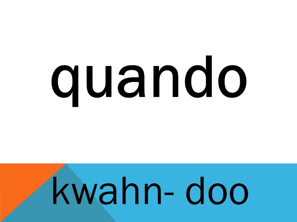 quando kwahn- doo