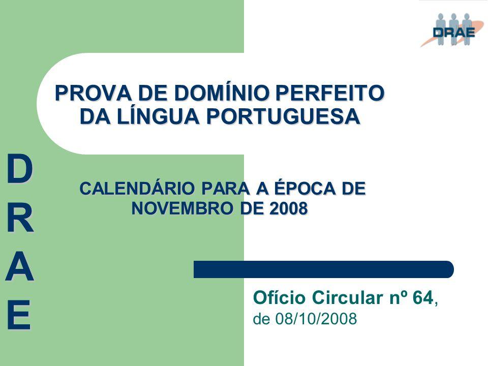 Ofício Circular nº 64, de 08/10/2008