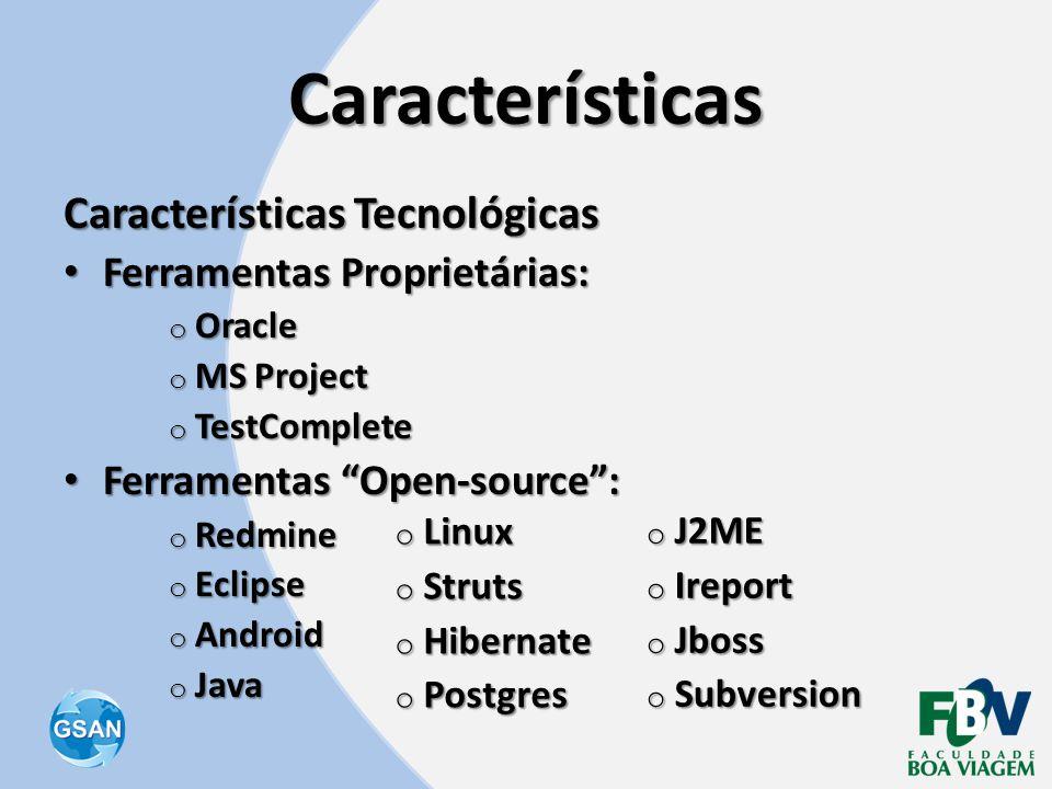 Características Características Tecnológicas