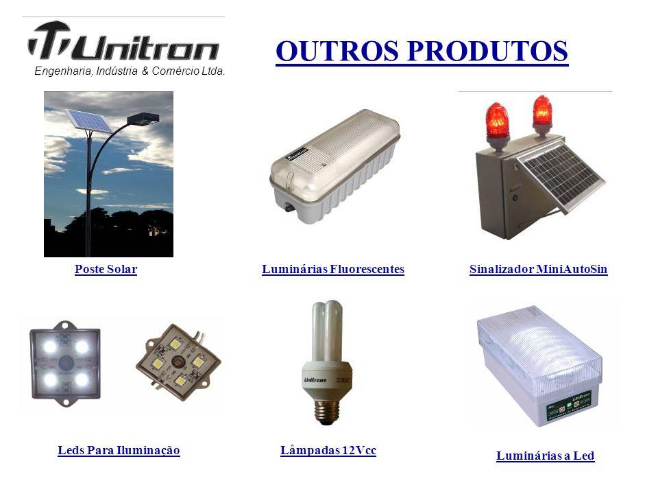 Luminárias Fluorescentes Sinalizador MiniAutoSin