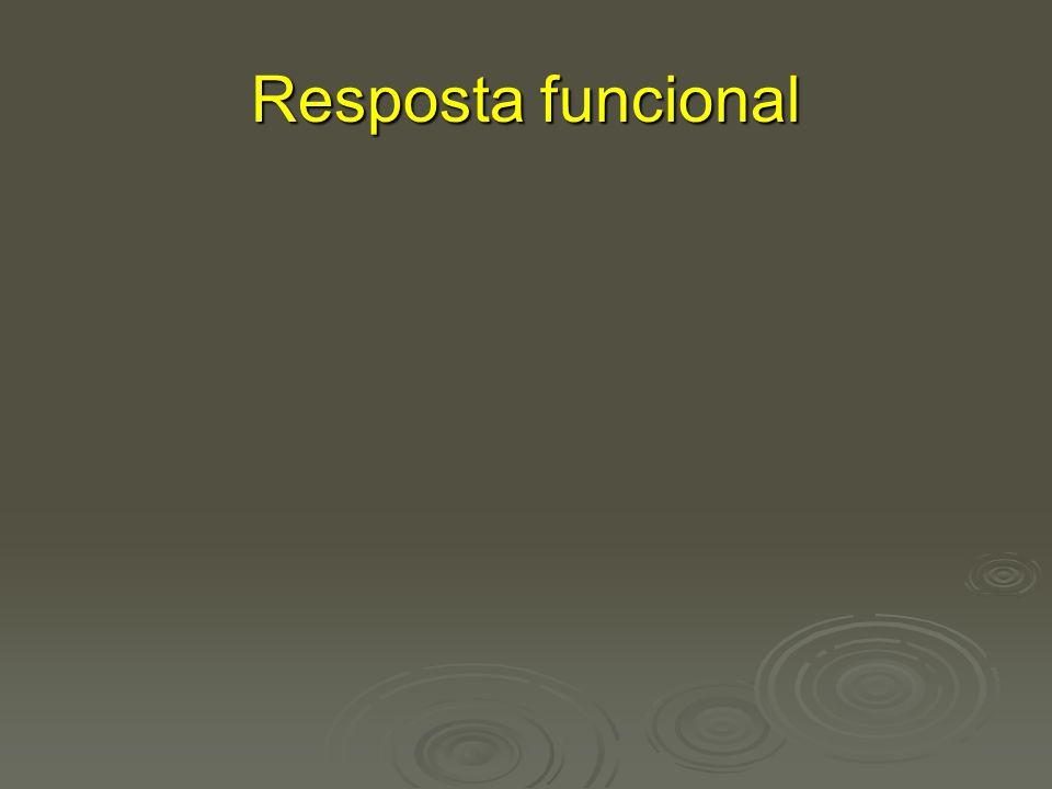 Resposta funcional