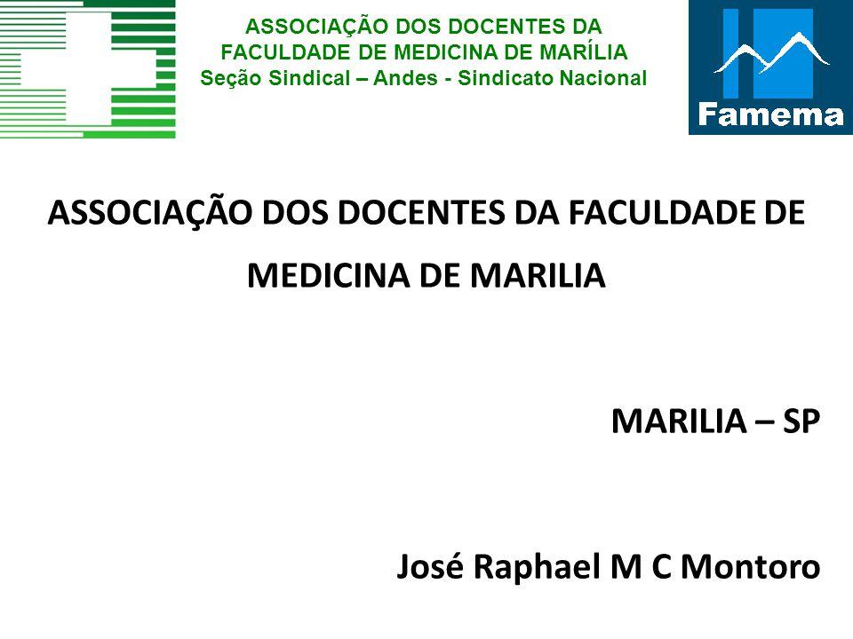 ASSOCIAÇÃO DOS DOCENTES DA FACULDADE DE MEDICINA DE MARILIA