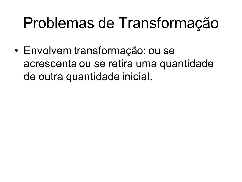 Problemas de Transformação