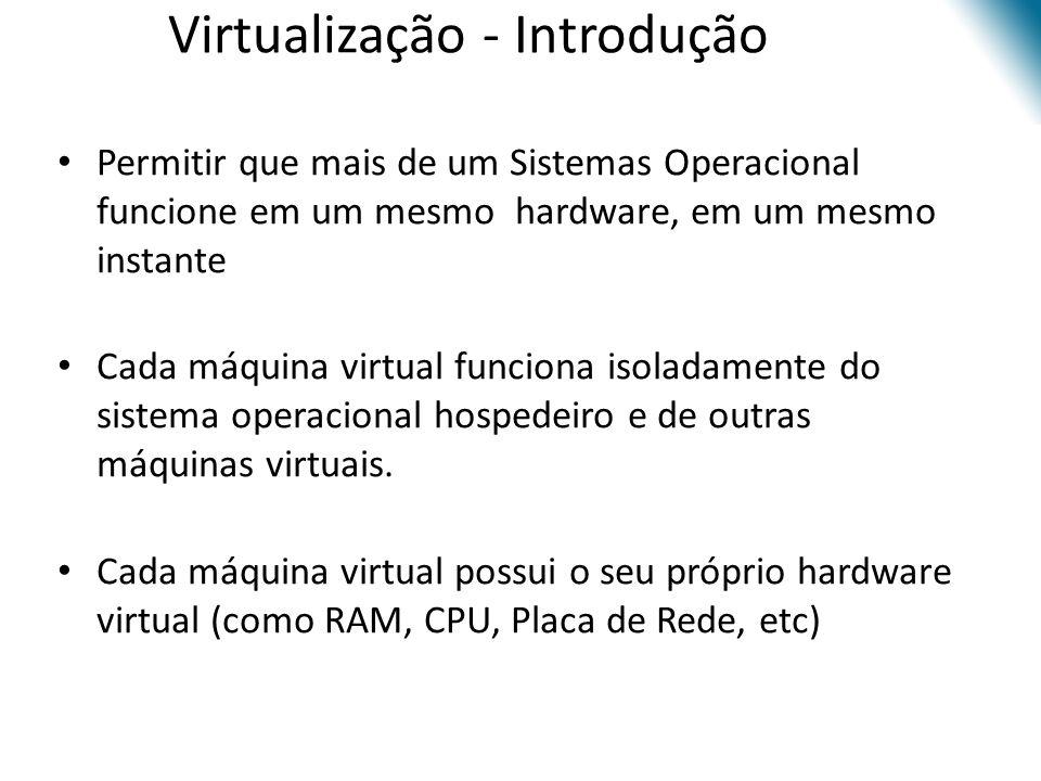 Virtualização - Introdução