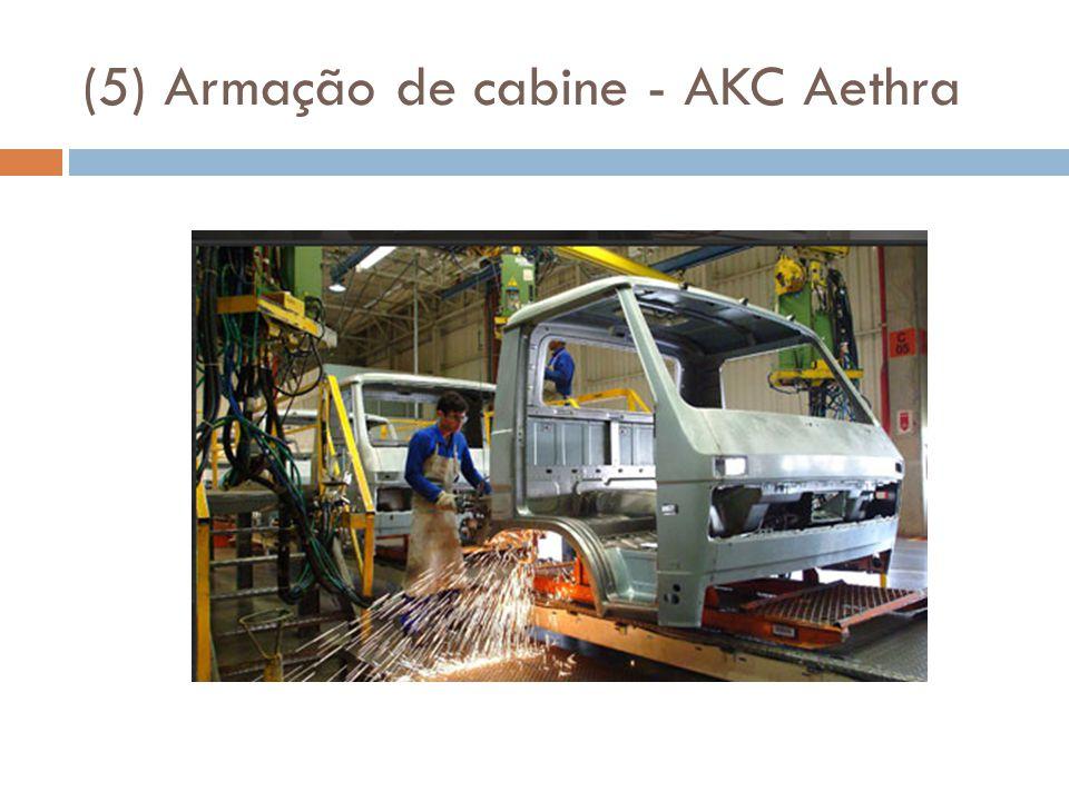 (5) Armação de cabine - AKC Aethra