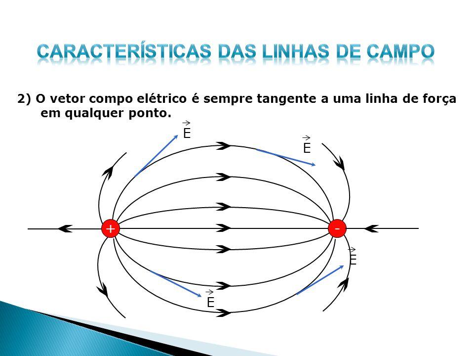 Características das LINHAS DE CAMPO