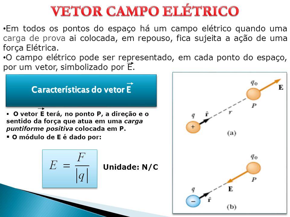 Características do vetor E