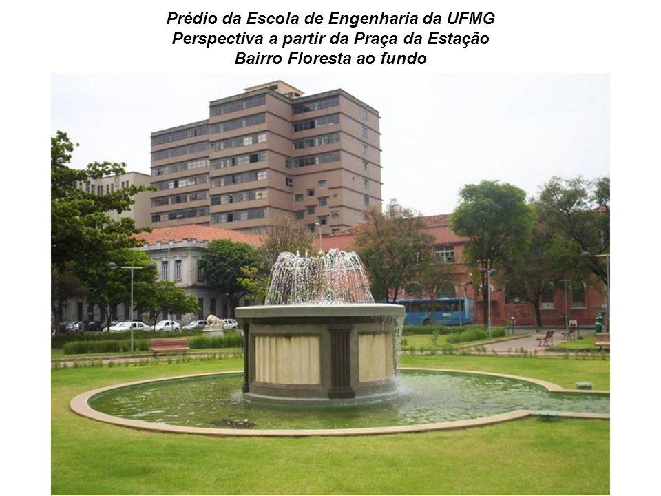 Prédio da Escola de Engenharia da UFMG