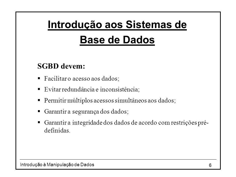 Introdução aos Sistemas de