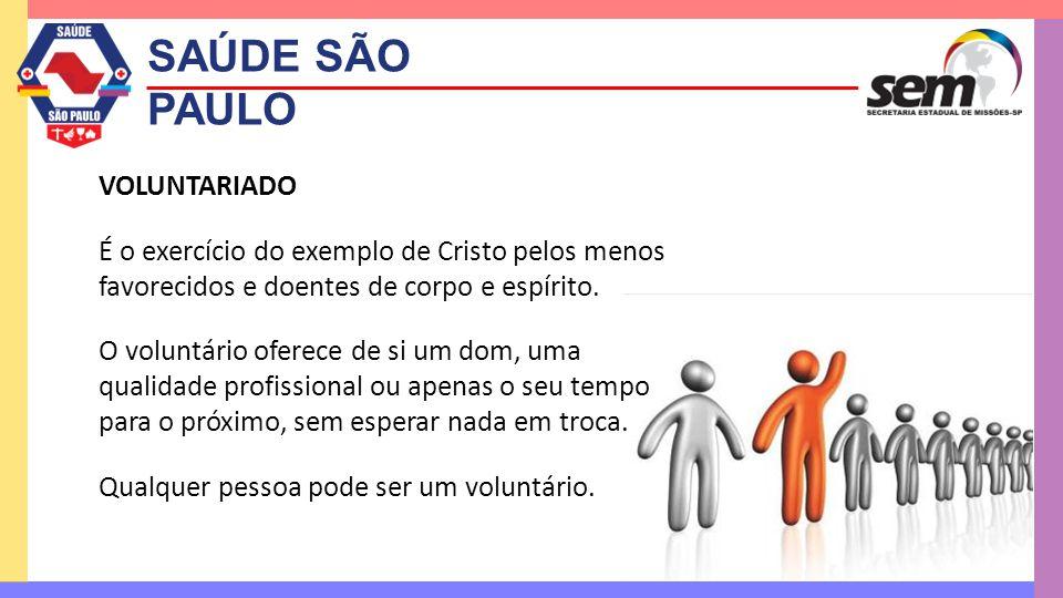 SAÚDE SÃO PAULO VOLUNTARIADO