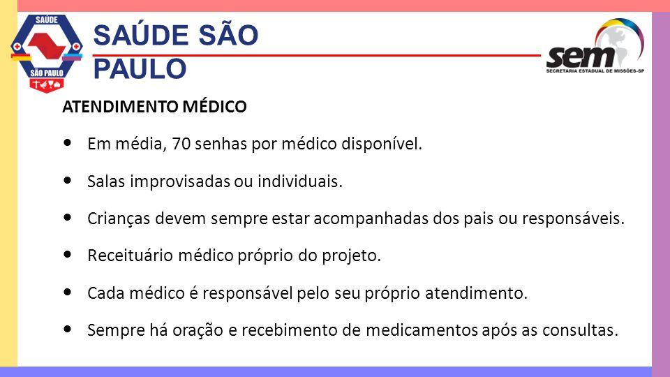 SAÚDE SÃO PAULO ATENDIMENTO MÉDICO