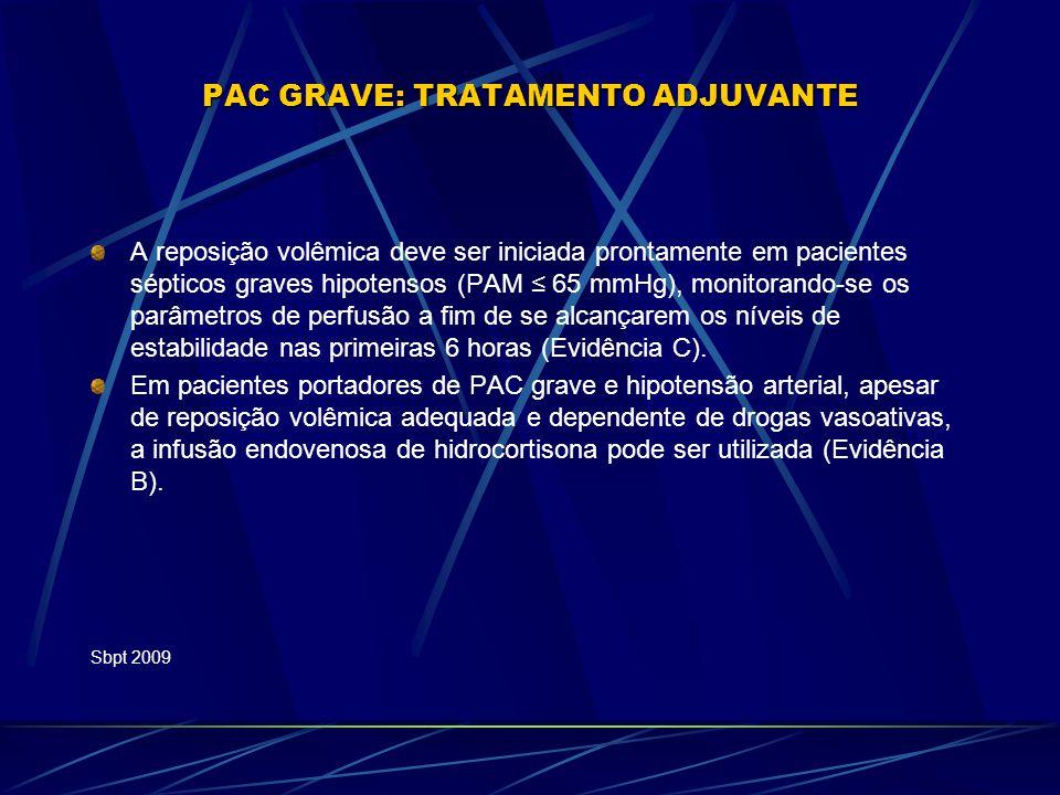PAC GRAVE: TRATAMENTO ADJUVANTE