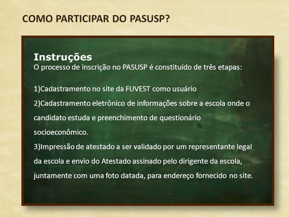 COMO PARTICIPAR DO PASUSP