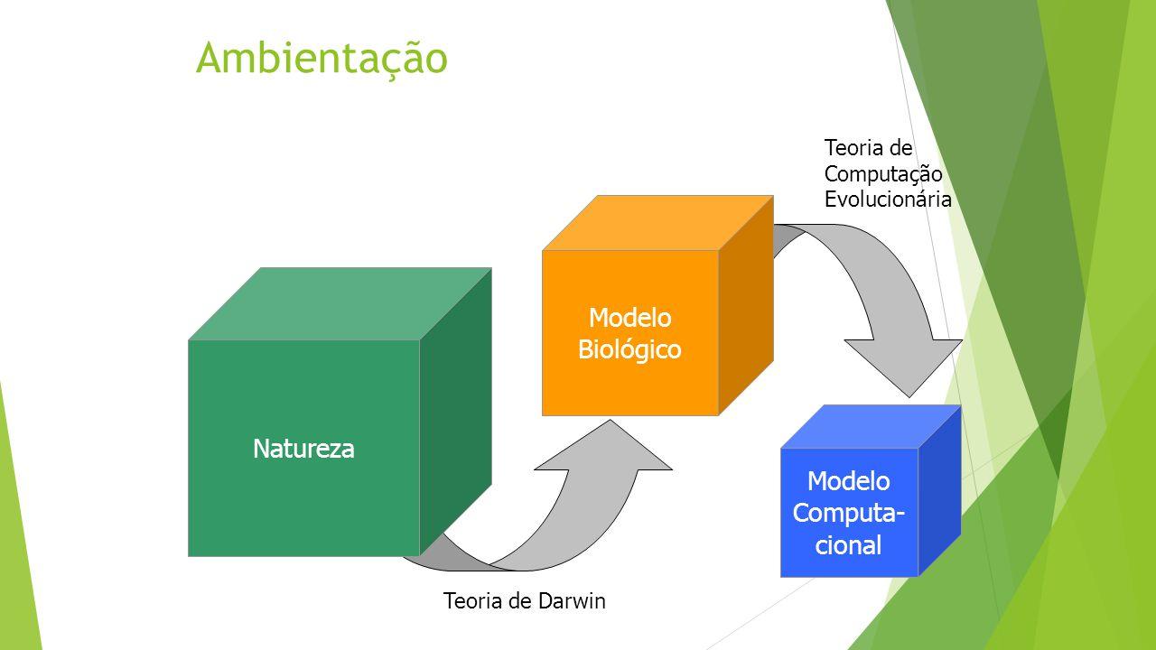 Ambientação Modelo Biológico Natureza Modelo Computa- cional
