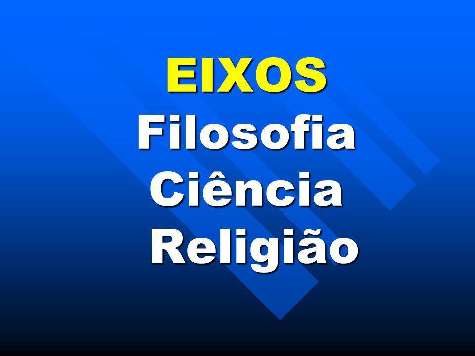 EIXOS Filosofia Ciência Religião