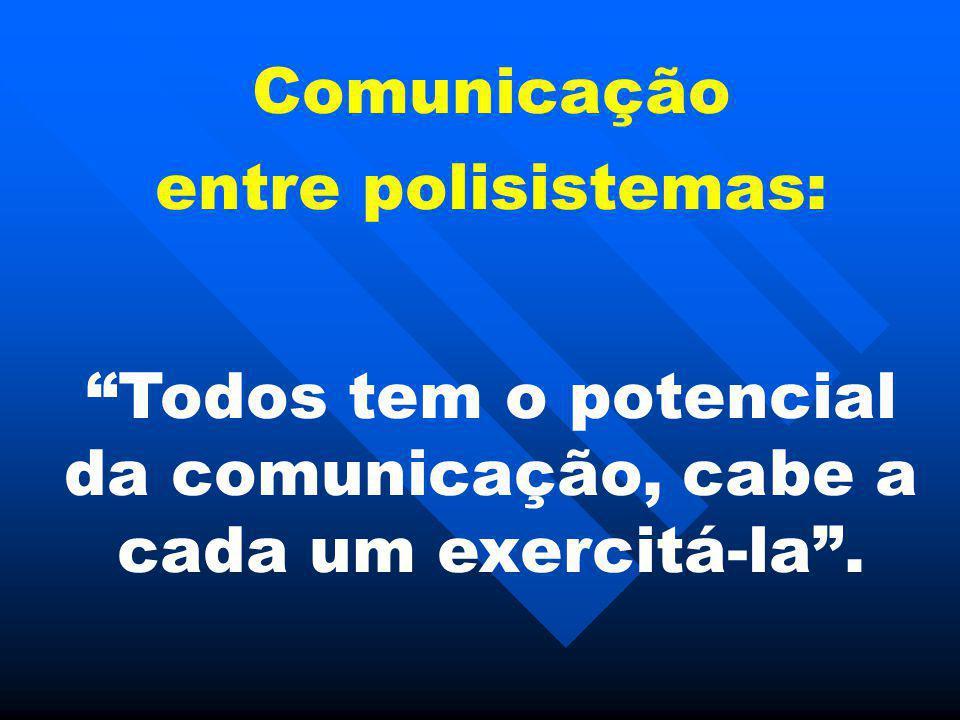 Todos tem o potencial da comunicação, cabe a cada um exercitá-la .