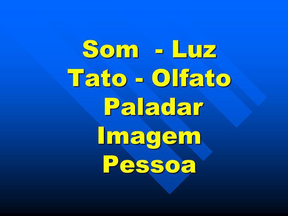 Som - Luz Tato - Olfato Paladar Imagem Pessoa