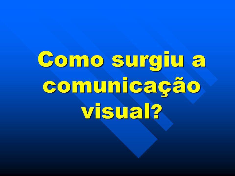 Como surgiu a comunicação visual
