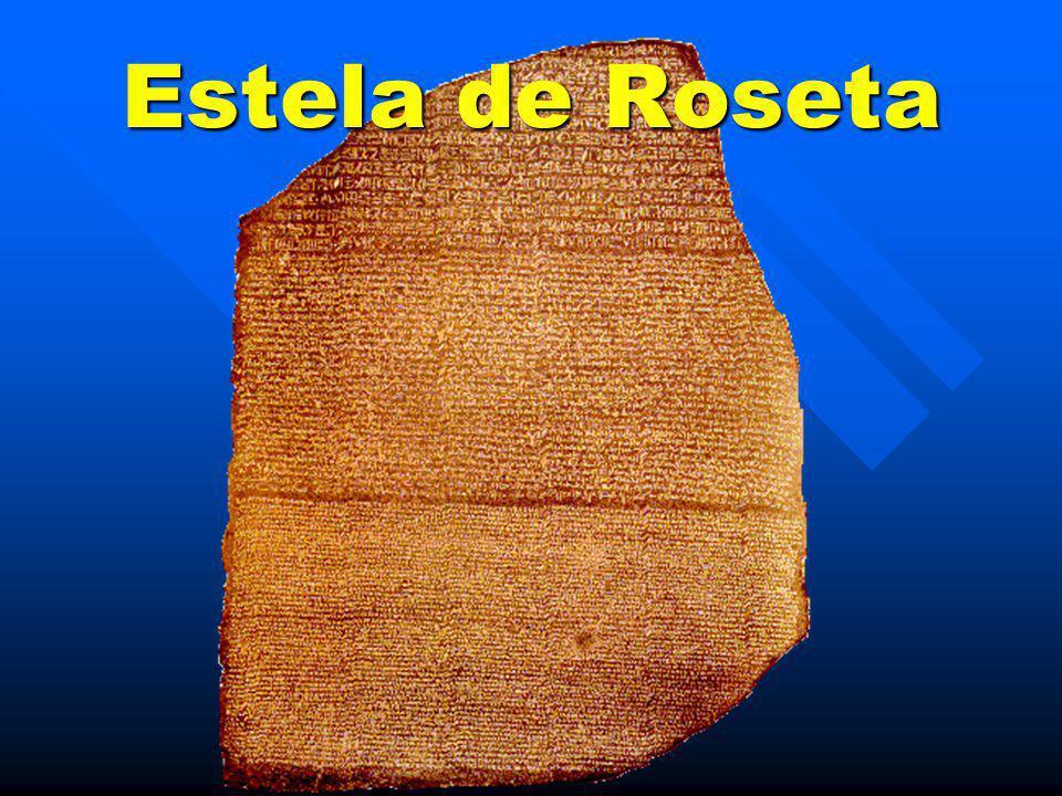 Estela de Roseta