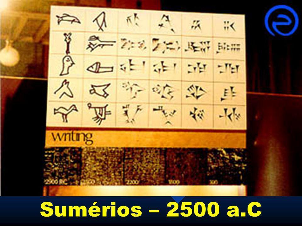 Sumérios – 2500 a.C