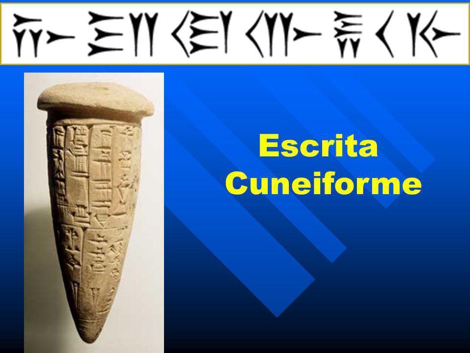 Escrita Cuneiforme