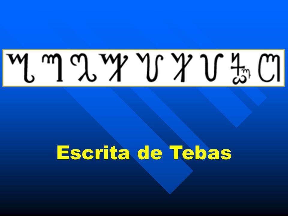 Escrita de Tebas