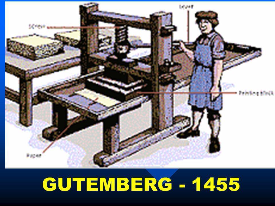 GUTEMBERG - 1455
