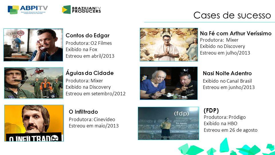 Cases de sucesso (FDP) Contos do Edgar Produtora: O2 Filmes