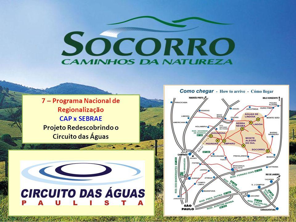 7 – Programa Nacional de Regionalização Projeto Redescobrindo o