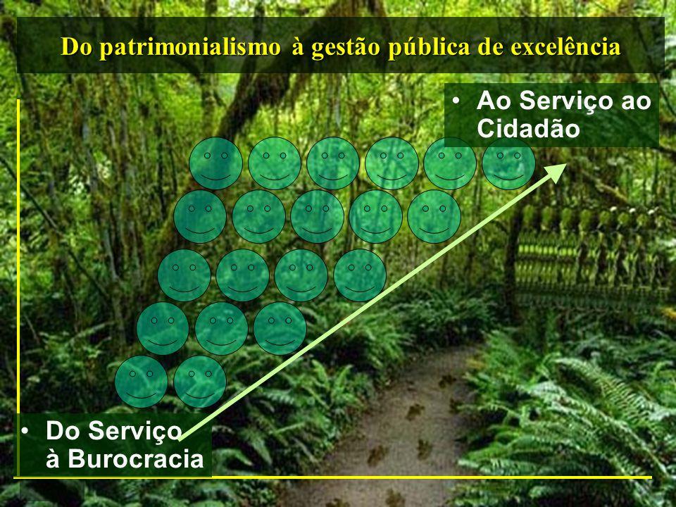 Do patrimonialismo à gestão pública de excelência