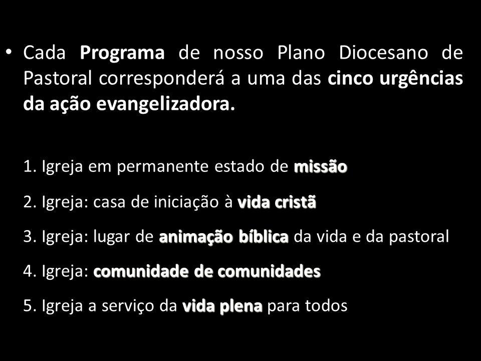 1. Igreja em permanente estado de missão