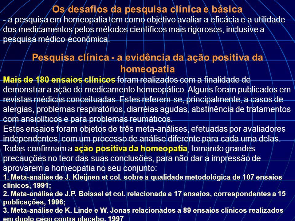 Os desafios da pesquisa clínica e básica