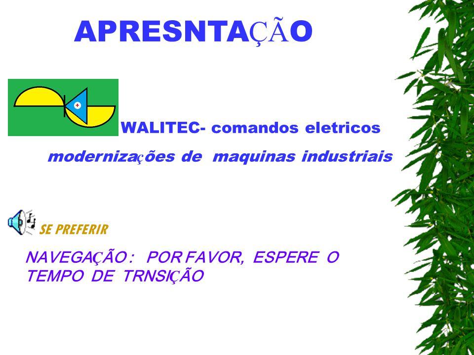 APRESNTAÇÃO WALITEC- comandos eletricos