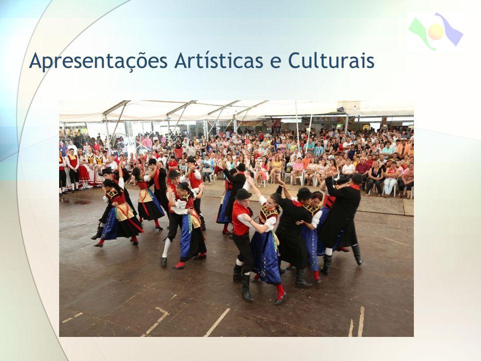 Apresentações Artísticas e Culturais