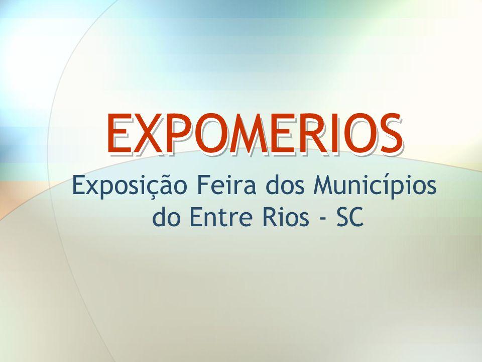 Exposição Feira dos Municípios do Entre Rios - SC