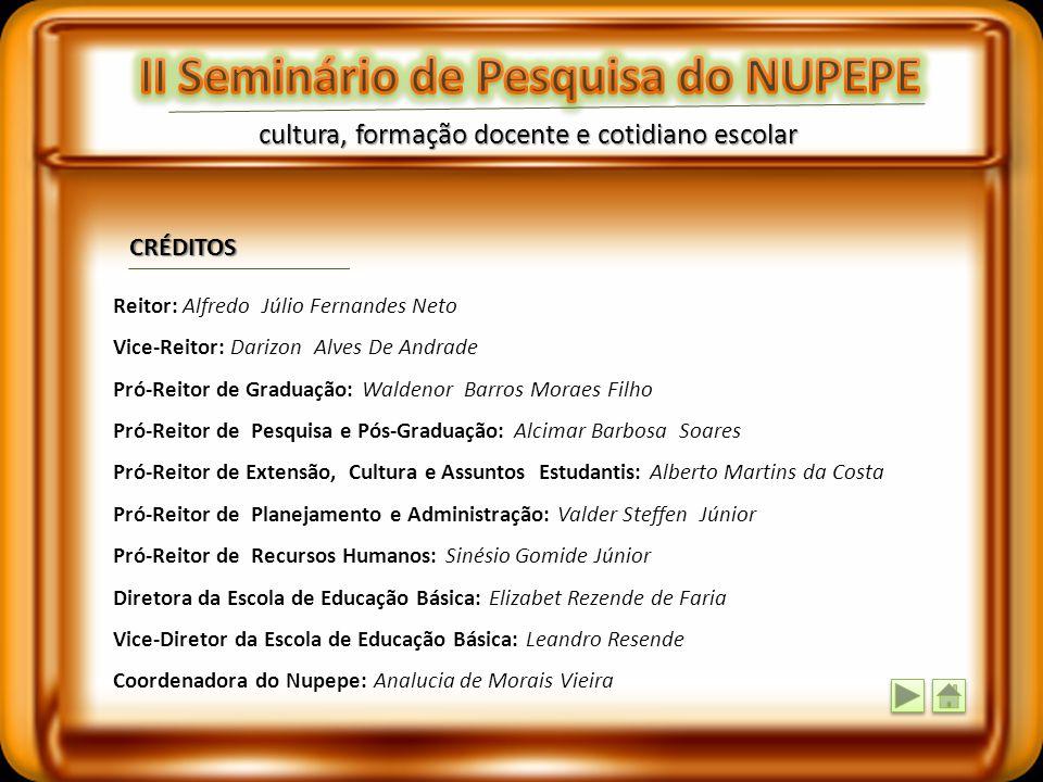II Seminário de Pesquisa do NUPEPE
