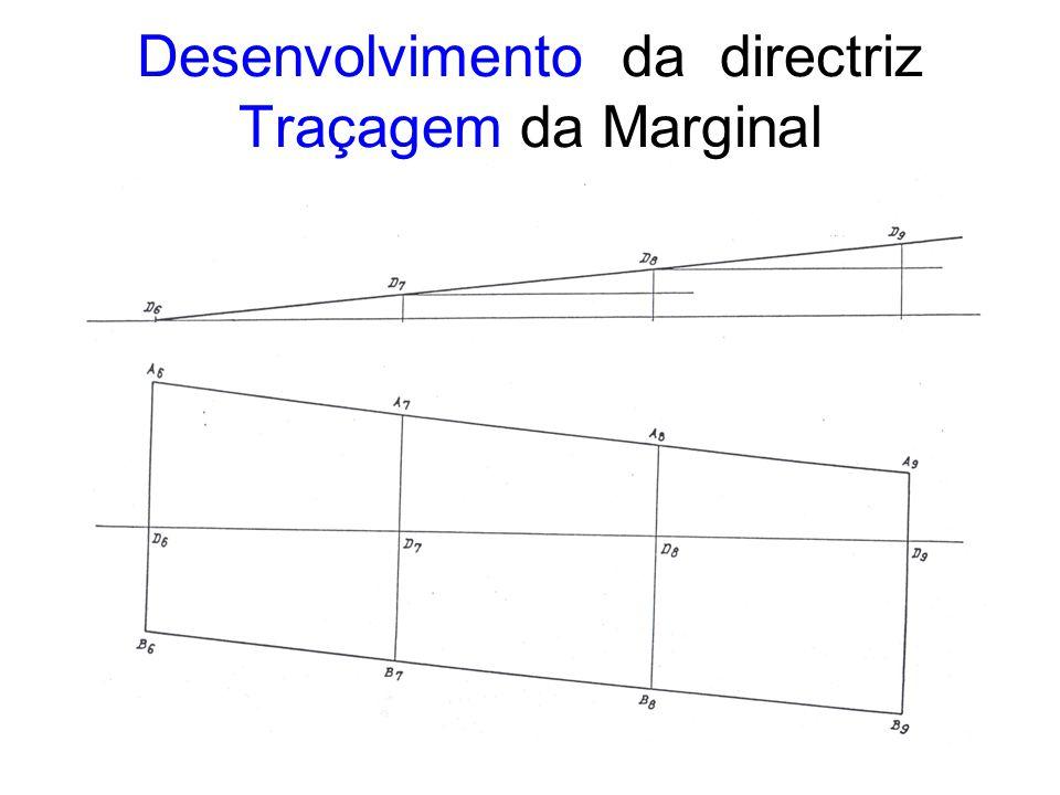 Desenvolvimento da directriz Traçagem da Marginal