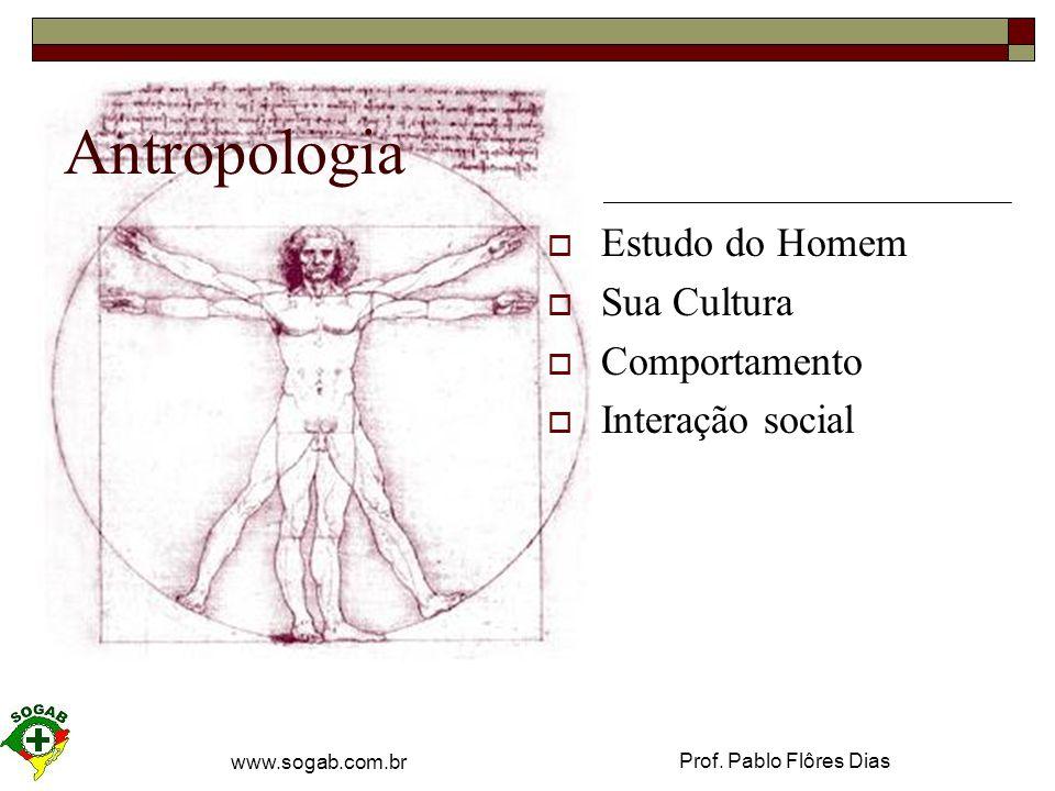 Antropologia Estudo do Homem Sua Cultura Comportamento