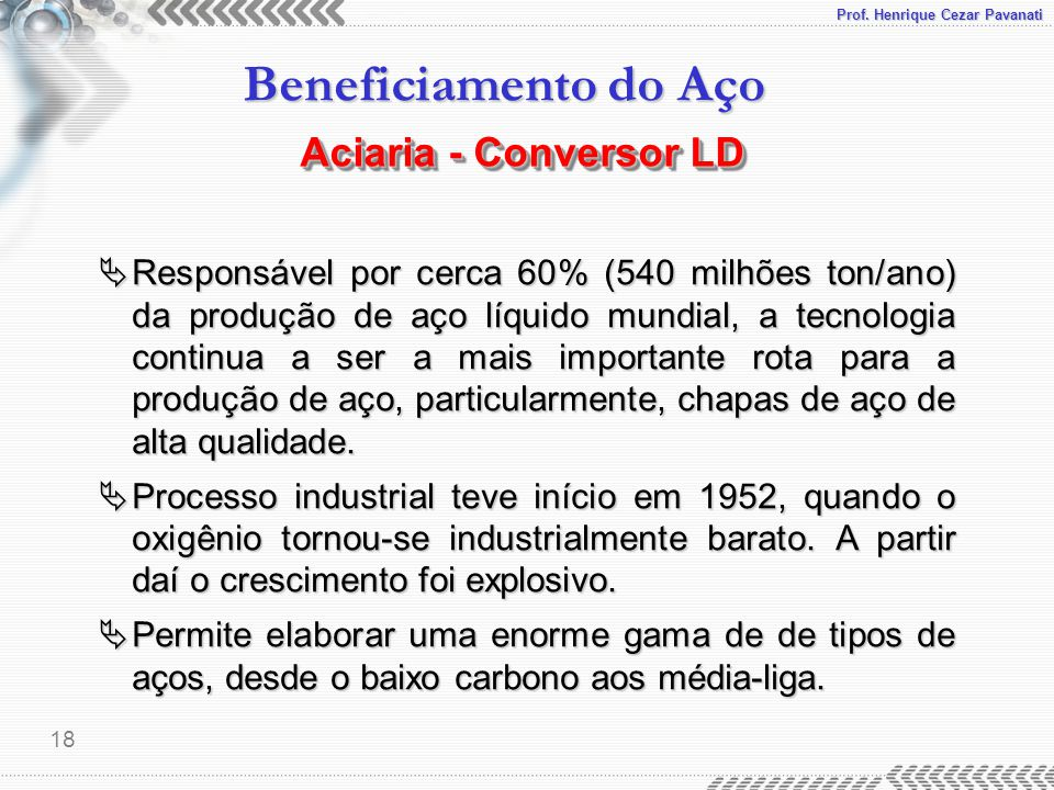 Aciaria - Conversor LD