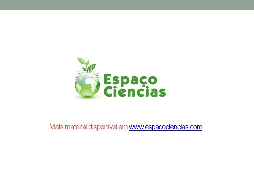 Mais material disponível em www.espacociencias.com