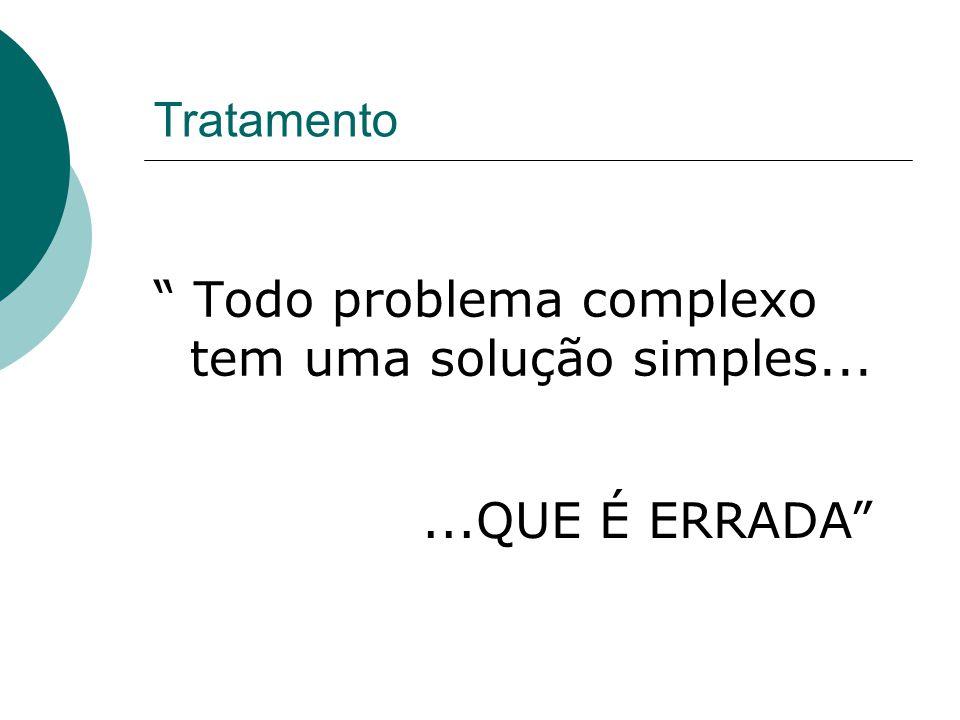 Todo problema complexo tem uma solução simples...