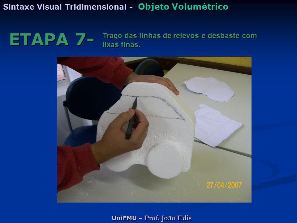 ETAPA 7- Sintaxe Visual Tridimensional - Objeto Volumétrico