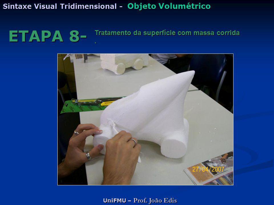 ETAPA 8- Sintaxe Visual Tridimensional - Objeto Volumétrico