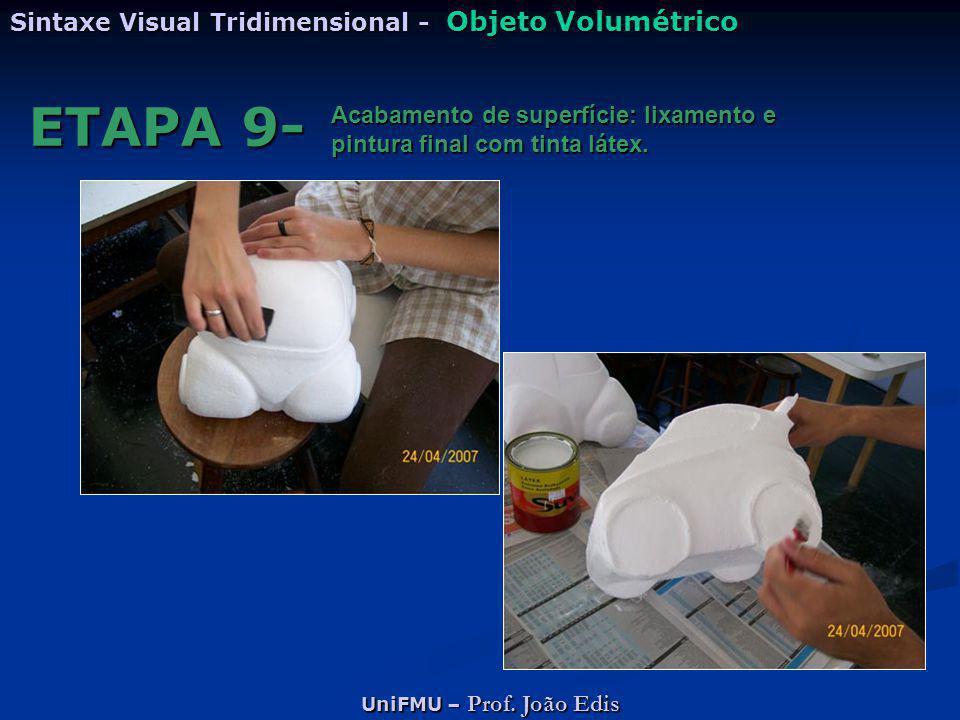 ETAPA 9- Sintaxe Visual Tridimensional - Objeto Volumétrico