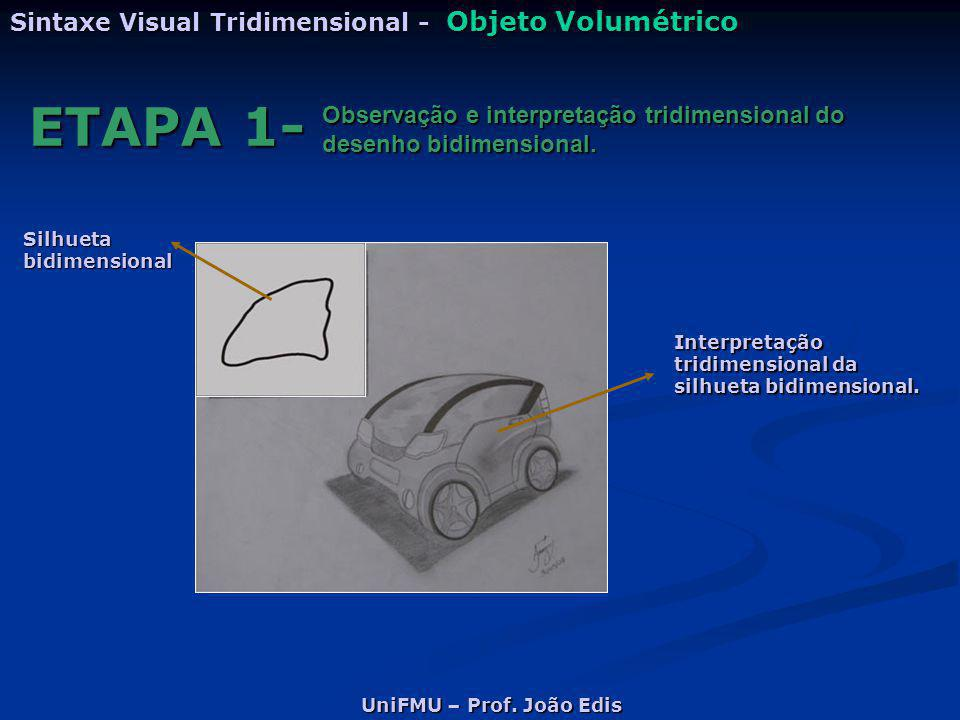 ETAPA 1- Sintaxe Visual Tridimensional - Objeto Volumétrico