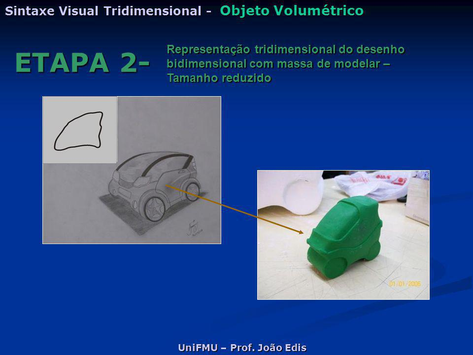 ETAPA 2- Sintaxe Visual Tridimensional - Objeto Volumétrico