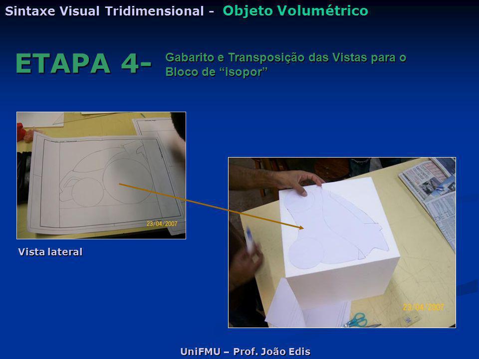 ETAPA 4- Sintaxe Visual Tridimensional - Objeto Volumétrico