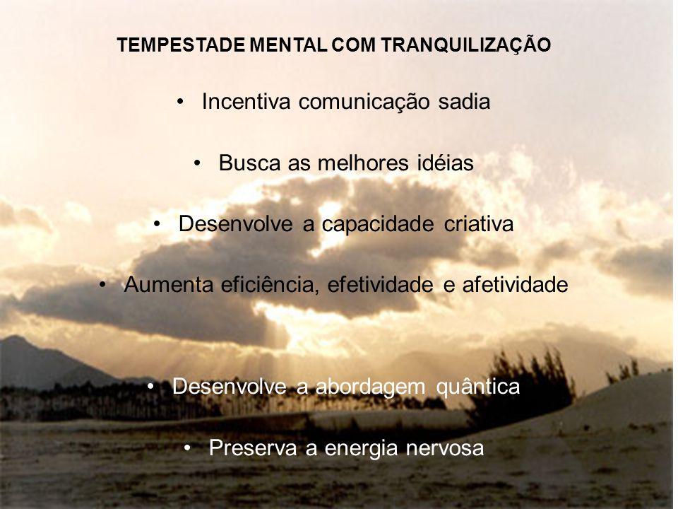 TEMPESTADE MENTAL COM TRANQUILIZAÇÃO