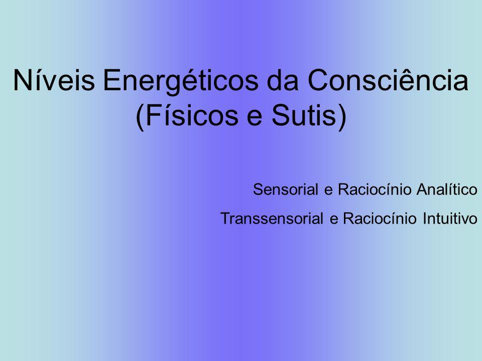 Níveis Energéticos da Consciência (Físicos e Sutis)